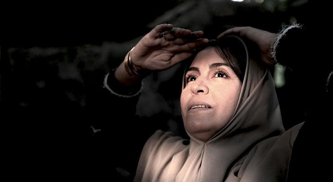مریلا زارعی در فیلم شیار 143